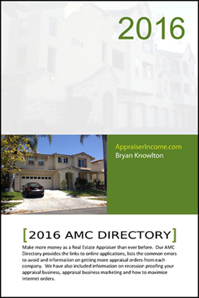 Appraisal Managment Company Directory