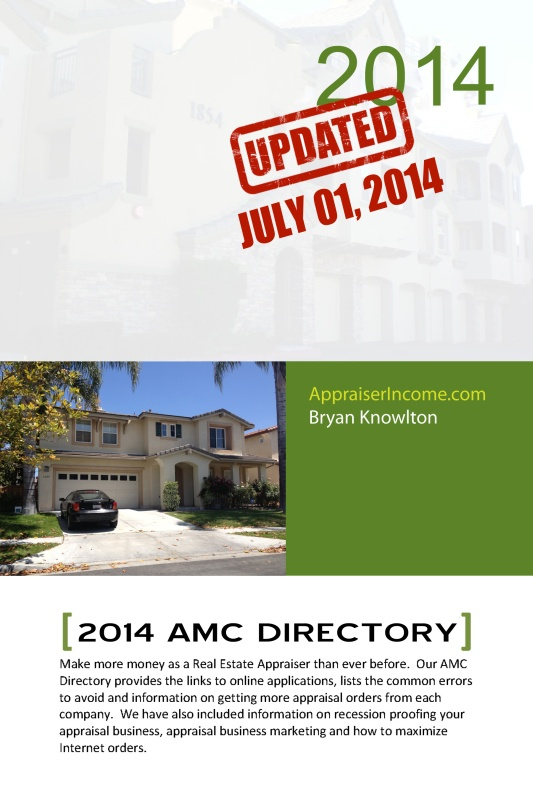 2014 Appraisal Management Company Directory